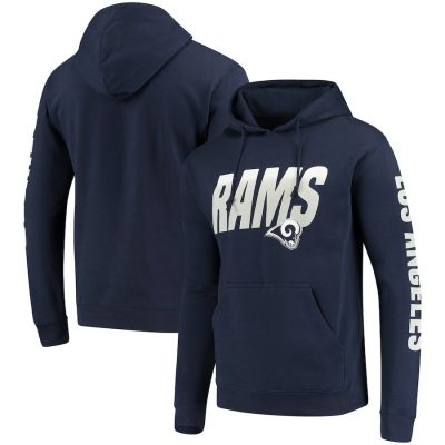 Men's Navy Los Angeles Rams Team Logo Pullover Hoodie