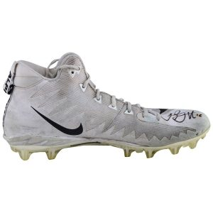 Jared Goff Autographed Game-Used White Cleats
