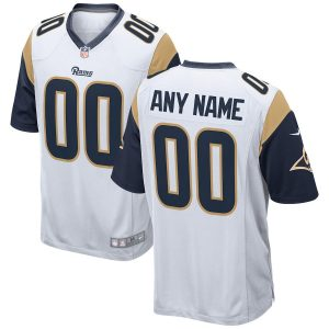 Men's Nike Los Angeles Rams Los Angeles Rams 2018 Custom Game Jersey