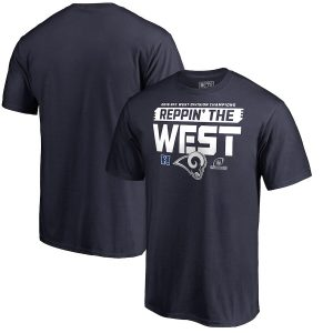 Rams 2018 NFC West Division Champions T-Shirt